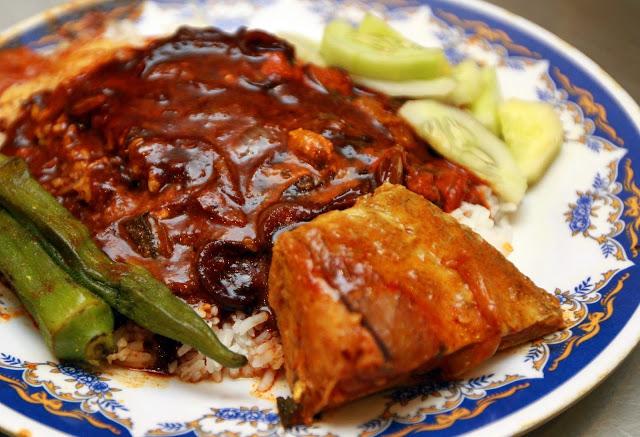 Món Cơm cà ri Nasi Kandar