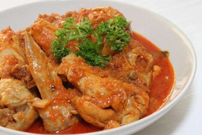 Cà ri gà Kapitan, Malaysia