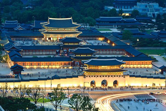 Cung điện Gyeongbok Hàn Quốc