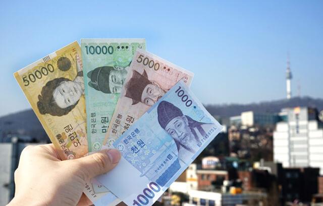 Đổi tiền trước khi du lịch Hàn Quốc