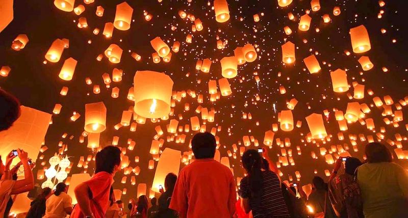 Lễ hội đèn lồng – du lịch Đài Loan