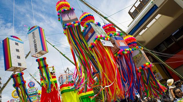Nếu đi du lịch Nhật Bản vào dịp đầu tháng 7 âm thì bạn nên đến với lễ hội Tanabata ở Sendai