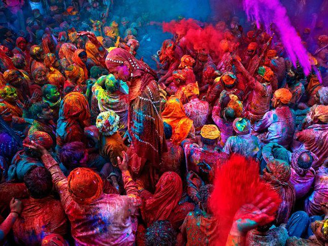 lễ hội màu sắc ở ấn độ