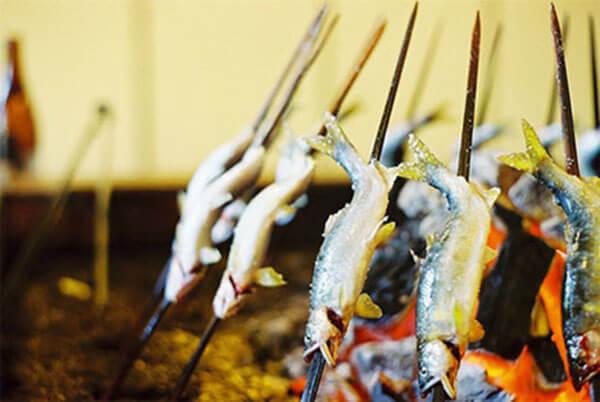 Món cá Ayu tươi và ngọt