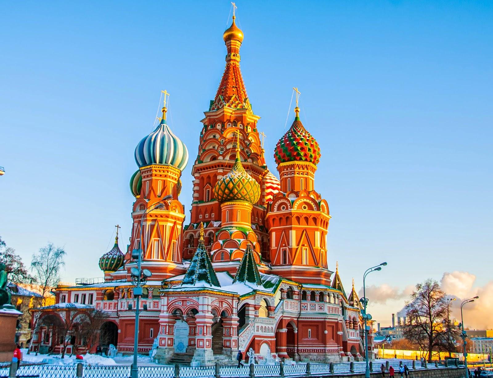 Khám phá nước Nga