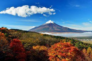 Du khách được tham quan Núi Phú Sĩ trong tour nhật bản 6N5D