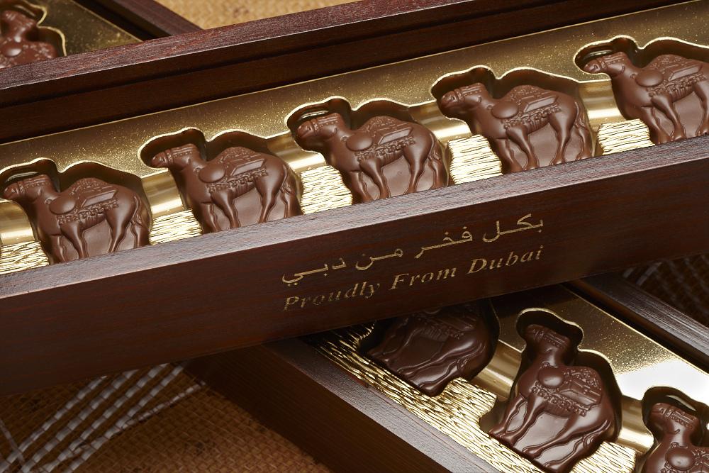 Thưởng thức hương vị sô cô la sữa lạc đà khi đi du lịch Dubai