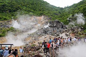 Khám phá thung lũng Owakudani tuyệt đẹp khi đi du lịch Nhật Bản