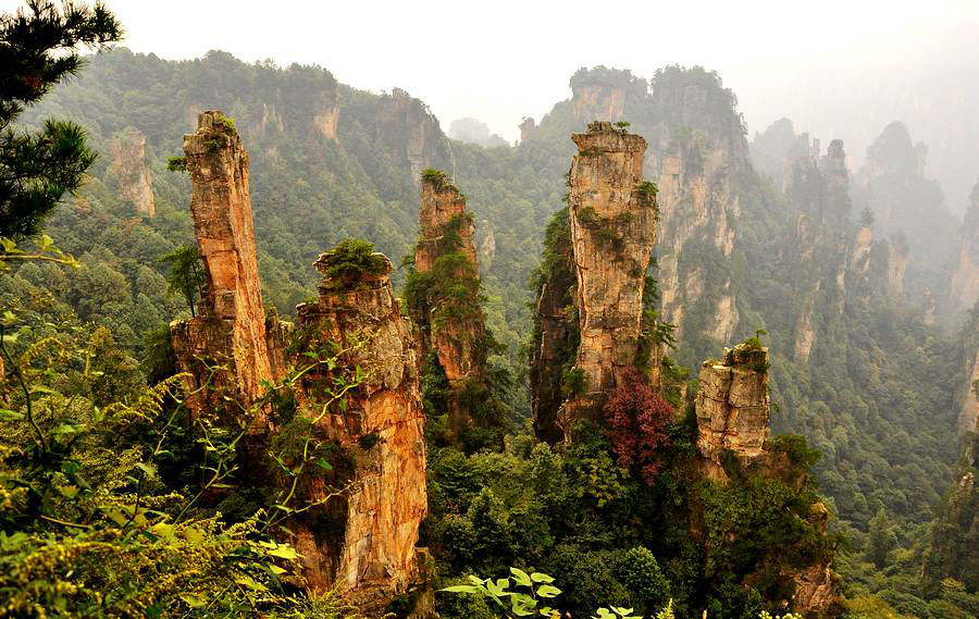 thung lũng Tố Khê ở Vũ Lăng Nguyên