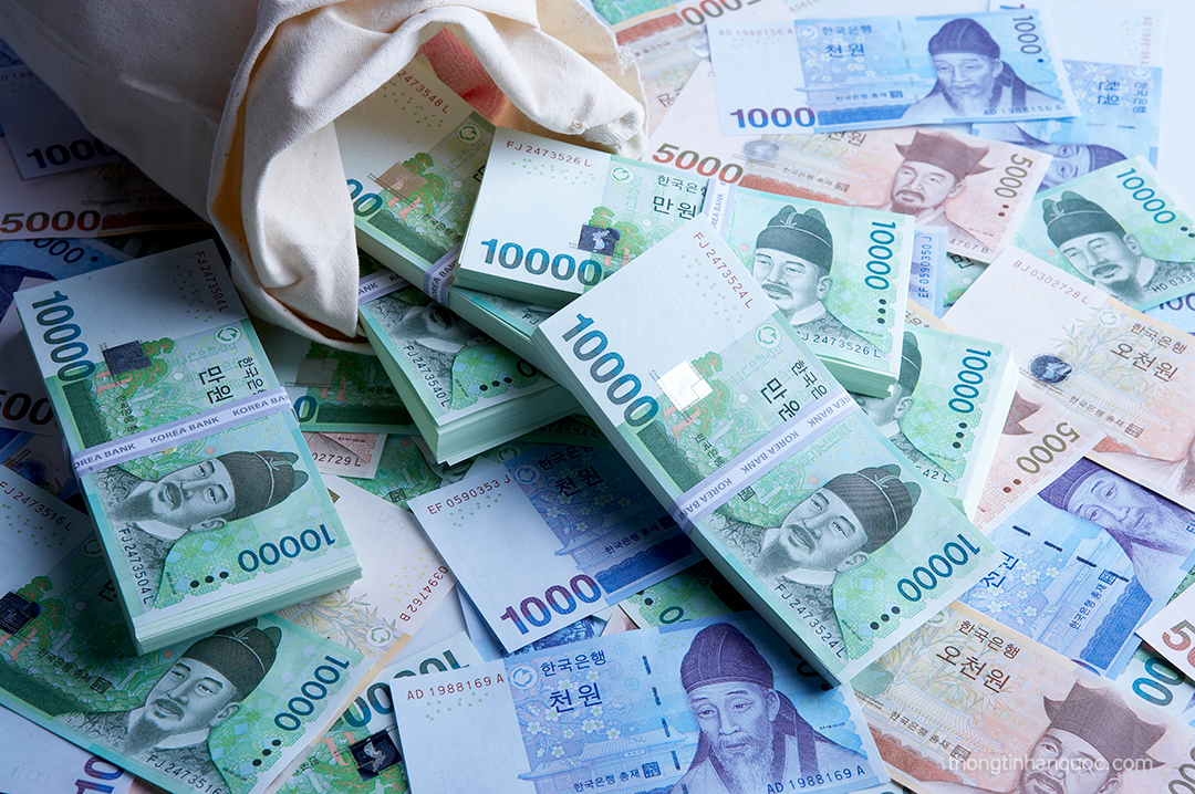 Tiền Won Hàn Quốc
