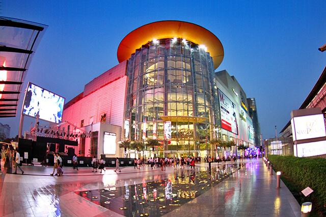 Một trung tâm mua sắm ở Thái Lan