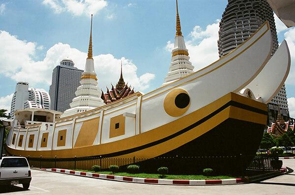 Chùa Wat Yan Nawa Thái Lan