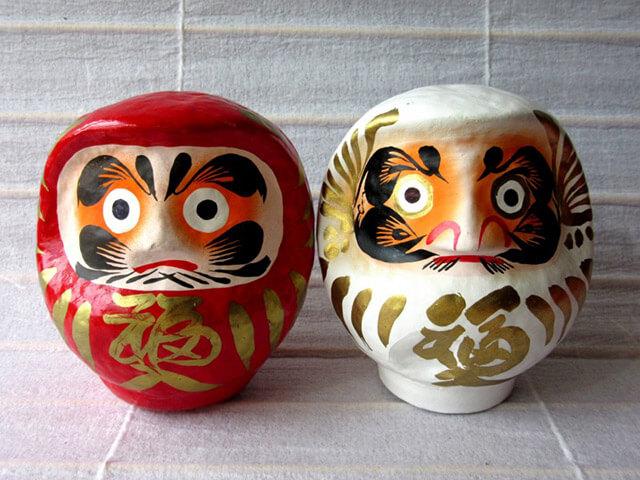 Búp bê Daruma là một món quà lưu niệm ý nghĩa từ chuyến du lịch Nhật Bản