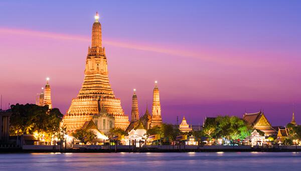 Chùa Wat Arun Thái Lan