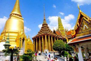 Chùa Wat Traimit Thái Lan