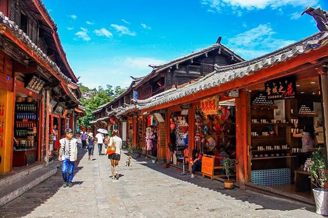 Kiến trúc đặc trưng tại Đại Nghiên cố trấn