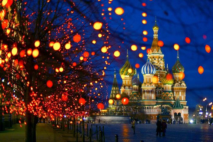 Lễ hội giáng sinh ở Nga