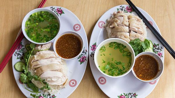 Khao Man Gai ở Thái Lan