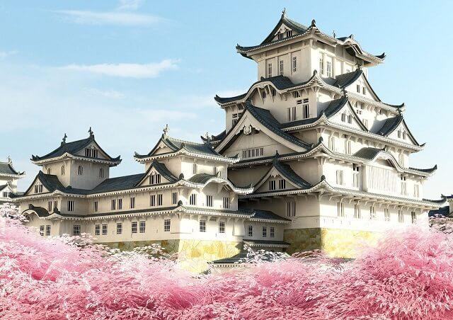 Lâu đài Osaka nằm ở khu Chou của thành phố Osaka