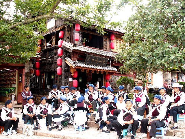 Người Naxi còn được gọi là người Nạp Tây và có nguồn gốc từ Tây Tạng