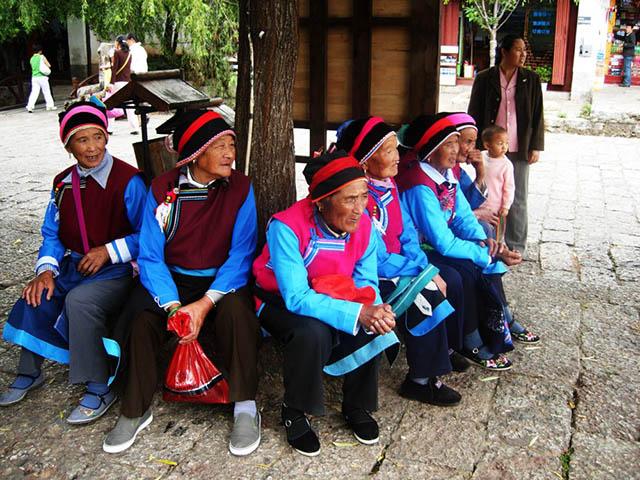 Người Naxi chiếm phần lớn dân số tại Lệ Giang