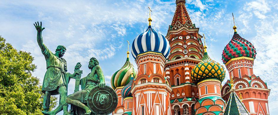 Khám phá tòa thánh Vasily