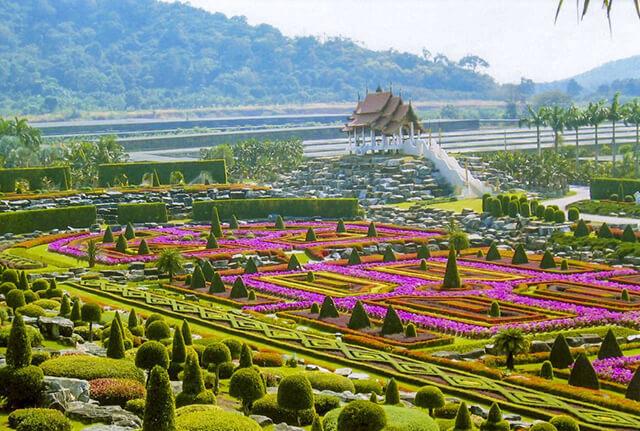 Du khách trong tour thái lan 4 ngày 3 đêm sẽ có những trải nghiệm thú vị tại Vườn Bướm Sathip