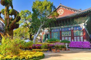Thăm chùa Tào Khê trong chuyến du lịch Hàn Quốc