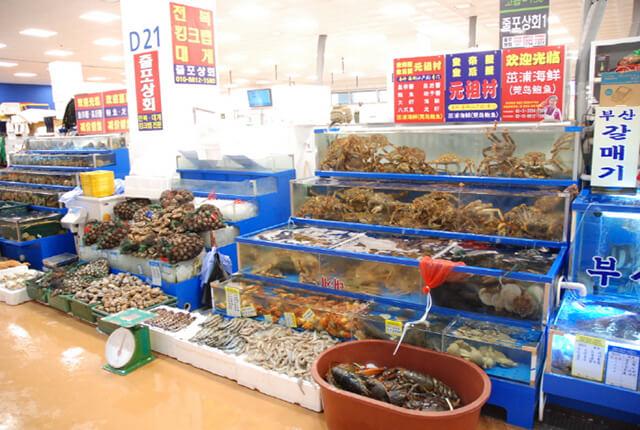 Nếu có cơ hội đi du lịch Hàn Quốc và muốn thử món Sannakij bạn có thể ghé chợ Noryangjin