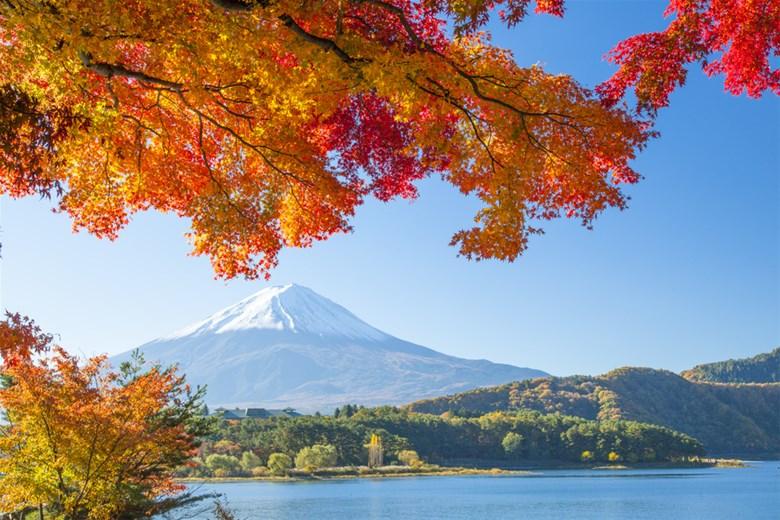 Vẻ đẹp núi Phú Sĩ