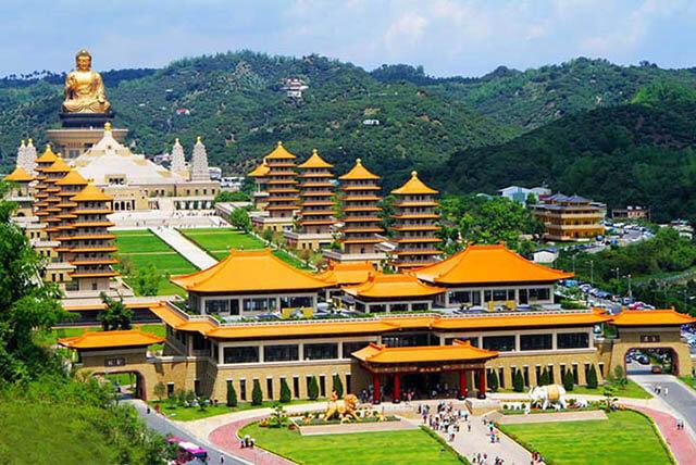 Phật Quang Sơn là một kiến trúc tôn giáo độc đáo và là một điểm đến không thể bỏ lỡ trong tour Đài Loan