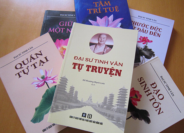 Đại sư Tinh Vân có rất nhiều đóng góp cho Phật Quang Sơn