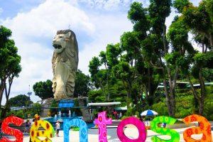 HÀNH TRÌNH VI VU TẠI HÒN ĐẢO SENTOSA Ở SINGAPORE