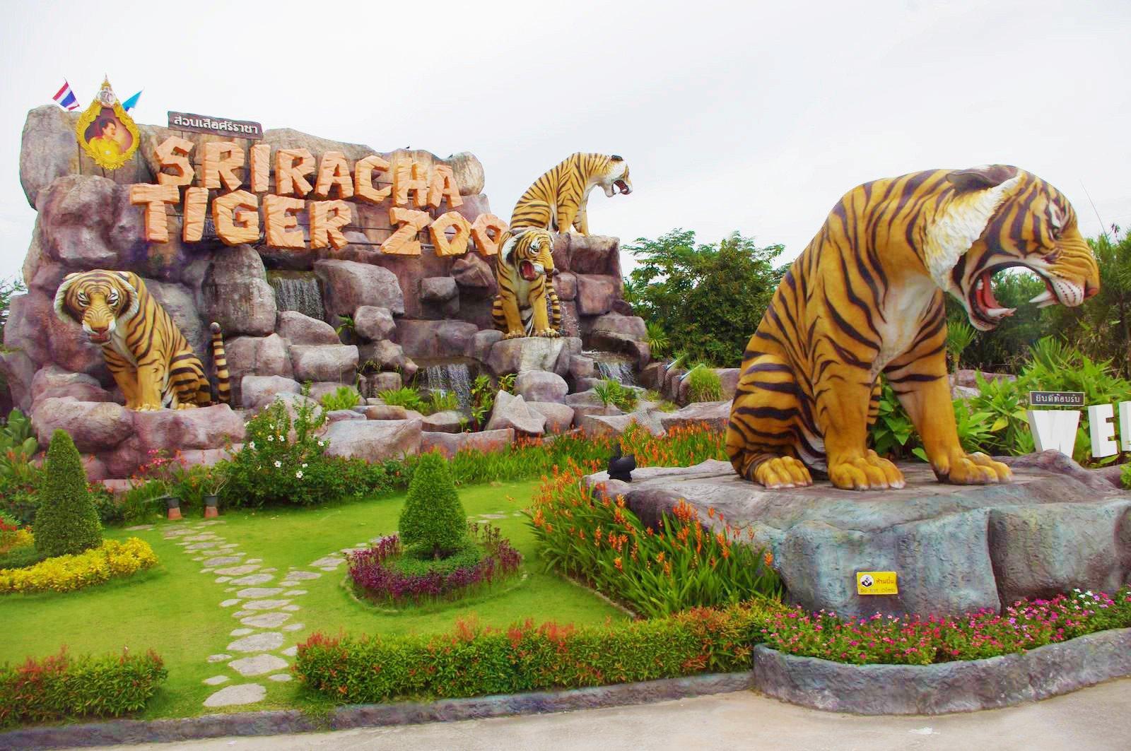 Trại cọp Sriracha (Sriracha Tiger Zoo)