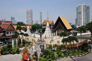 Tên của chùa Wat Yannawa có nghĩa là chùa thuyền