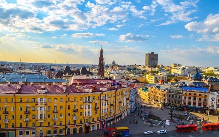 thành phố Kazan, nươc Nga