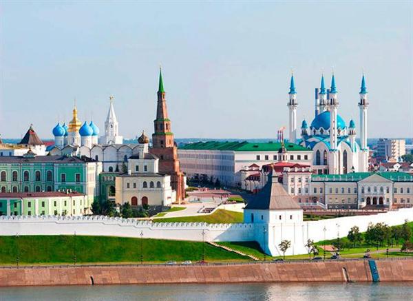 Thành phố Kazan là thủ đô nước Nga xinh đẹp