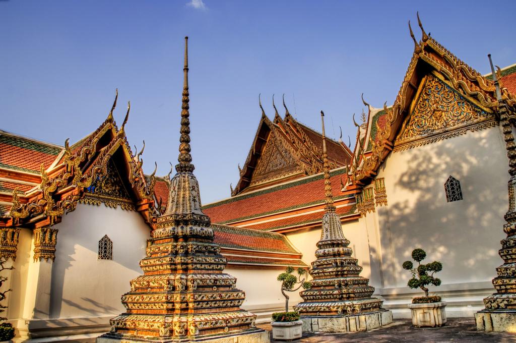 Wat Pho Thái Lan