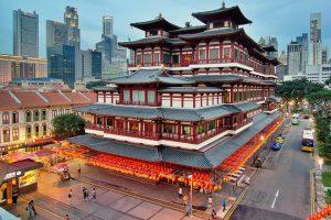 Du lịch Singapore – Khám phá ngôi chùa Răng Phật linh thiêng