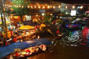 Không chỉ Việt Nam mới có chợ nổi, du lịch Thái Lan cùng có!