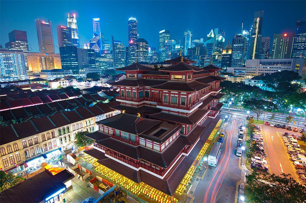 Chùa Răng Phật - Du lịch Singapore