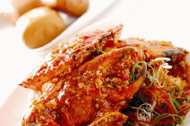 cua sốt cay Chili Crab Singapore