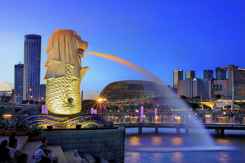 Khám phá vẻ đẹp Singapore về đêm