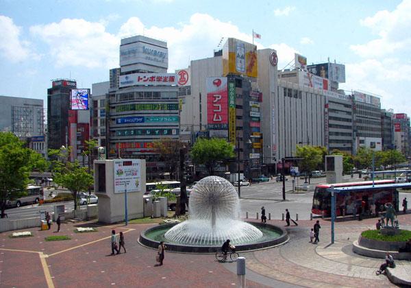 Thành phố Okayama nhật bản