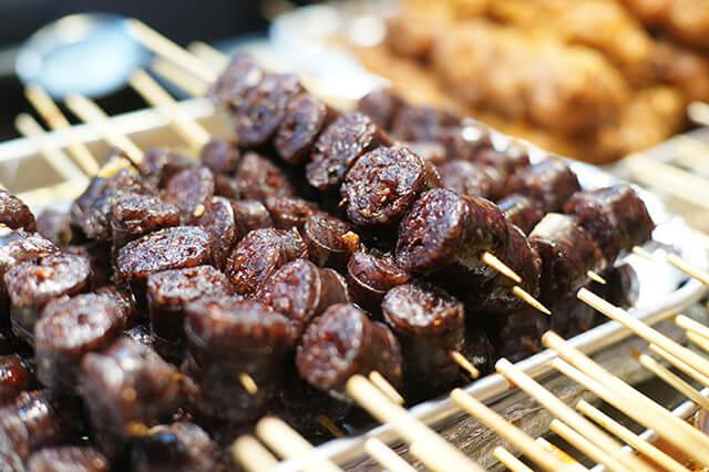 Dồi lợn Hàn Quốc có hương vị rất độc đáo