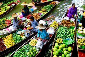 Du lịch Thái Lan 5 ngày 4 đêm – Thỏa sức mua sắm tại chợ nổi Amphawa Bangkok