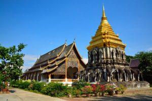 Chiang Man – Ngôi chùa cổ nhất Chiang Mai Thái Lan