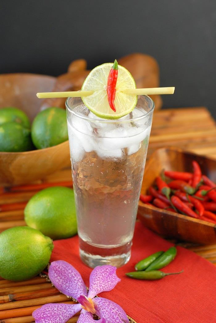 Cocktail Siam Sunray Thái Lan