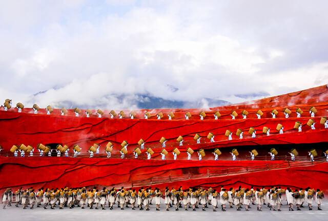 Chắc chắn rằng show ấn tượng Lệ Giang sẽ đem lại cho bạn nhiều ấn tượng và cảm xúc khó quên trong tour du lịch shangrila