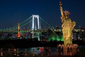 Khám phá Đảo nhân tạo Odaiba trong tour du lịch Nhật Bản